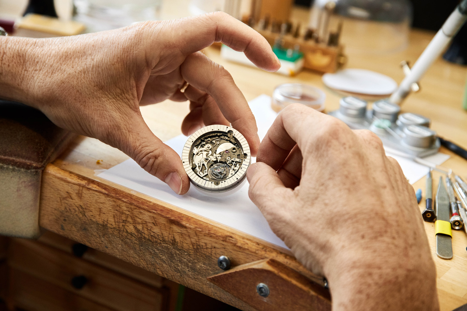 Switzerland, Geneva - Louis Vuitton's watchmakers for the Telegraph Luxury Magazine