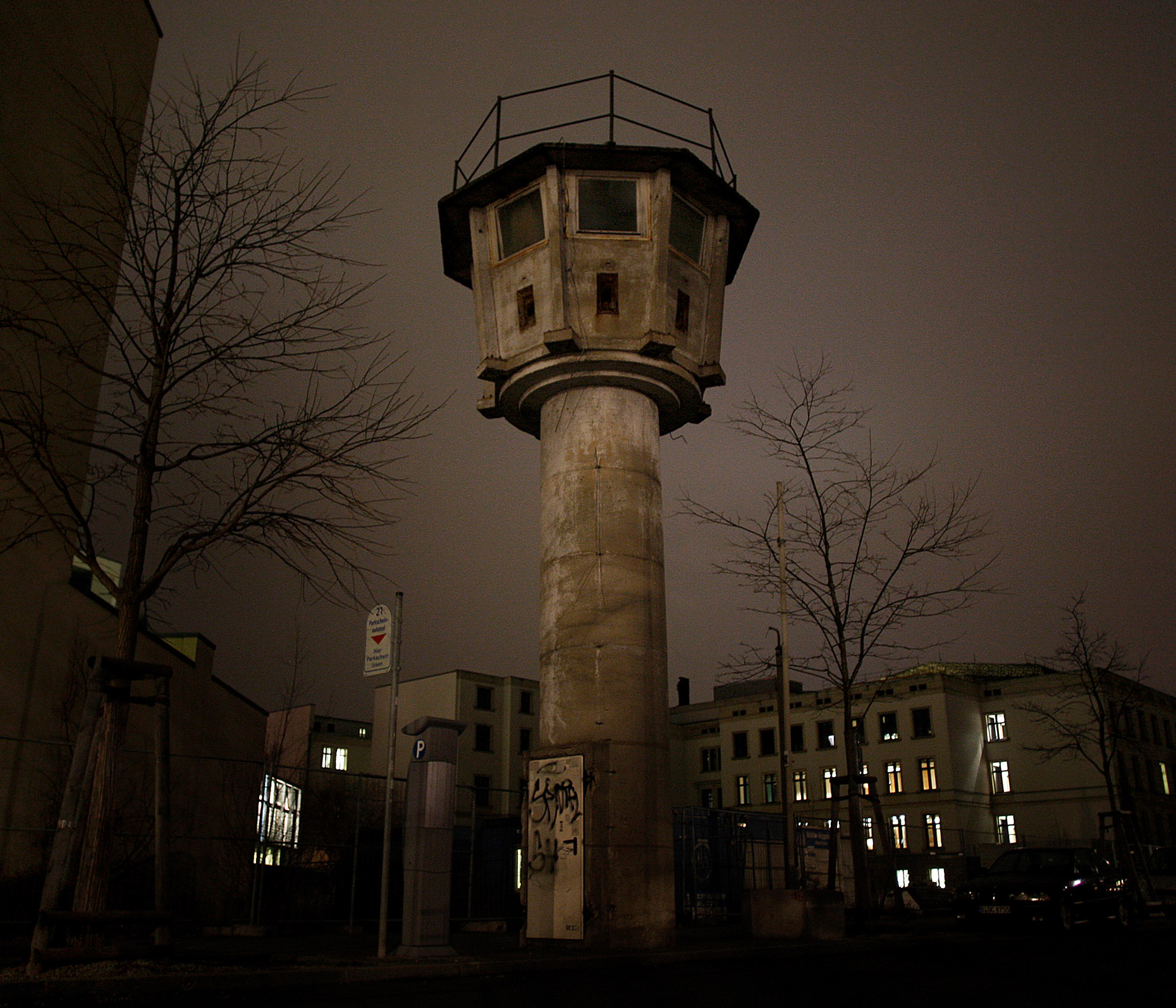 Berlin Wall Guard Tower
