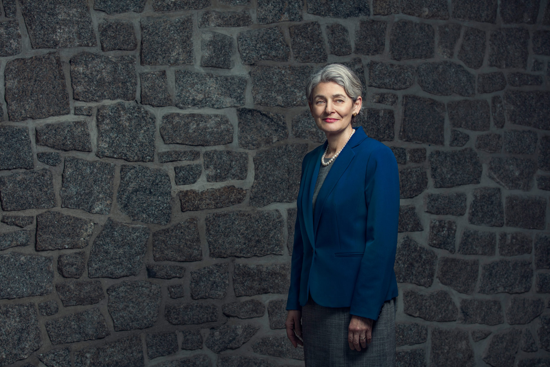 June 2016 - For The Guardian Weekend Magazine - UNESCO Director-General Irina Bokova