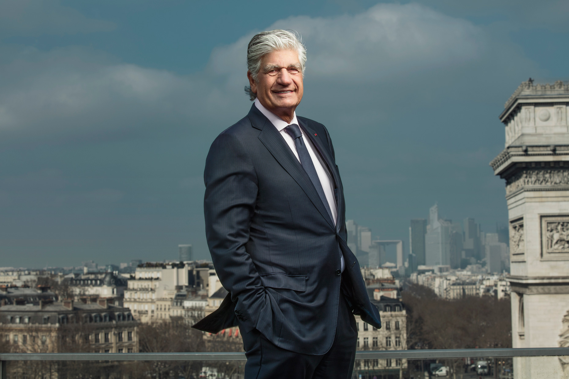 For Adweek - Maurice Levy