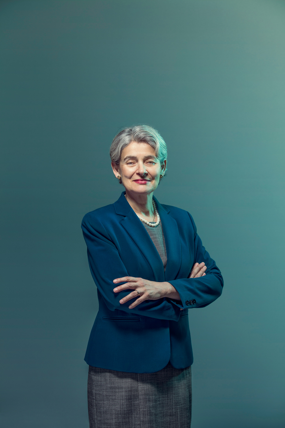 UNESCO Director Irina Bokova .  The Guardian | On Location