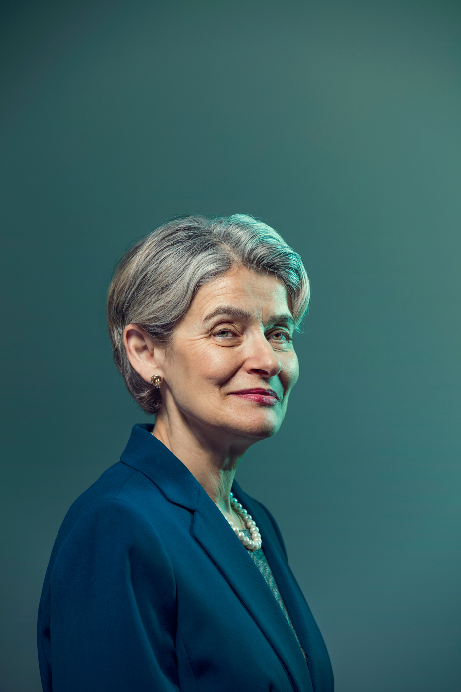 For The Guardian Weekend Magazine - UNESCO Director-General Irina Bokova