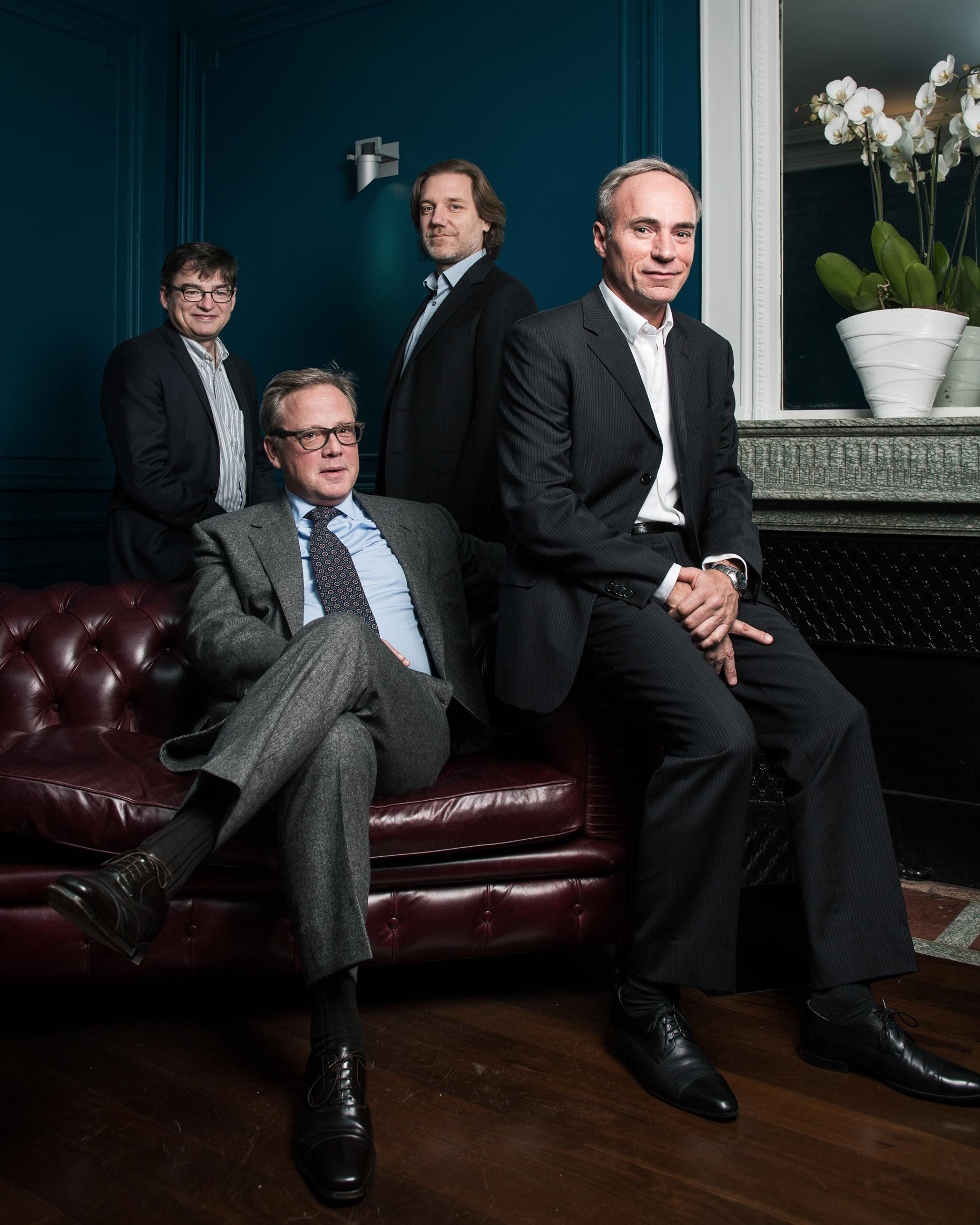 For Bloomberg Markets - Jean-Philippe Bouchaud, Philippe Jordan, Marc Potters and Jacques Sauliere - Capital Fund Management