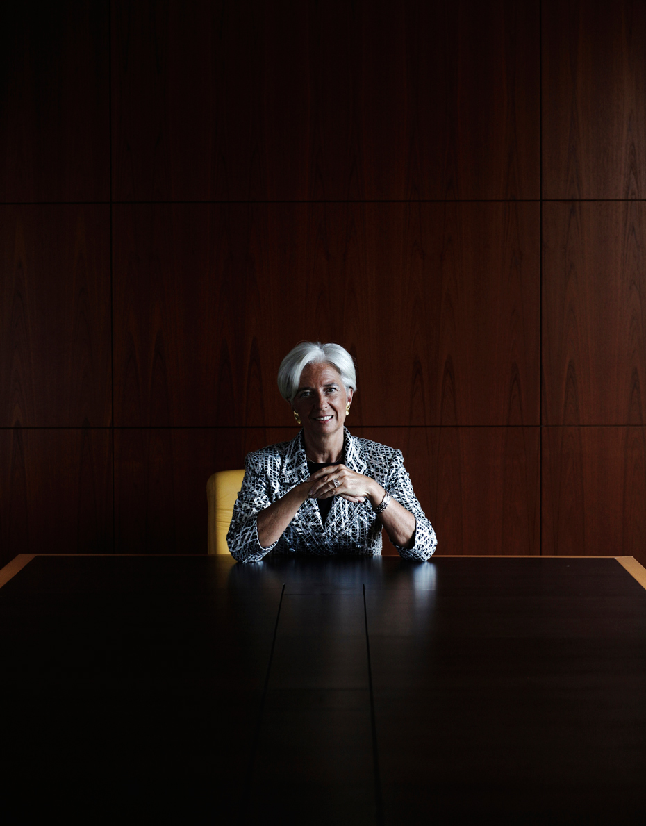 Christine Lagarde | The Guardian Weekend Magazine
