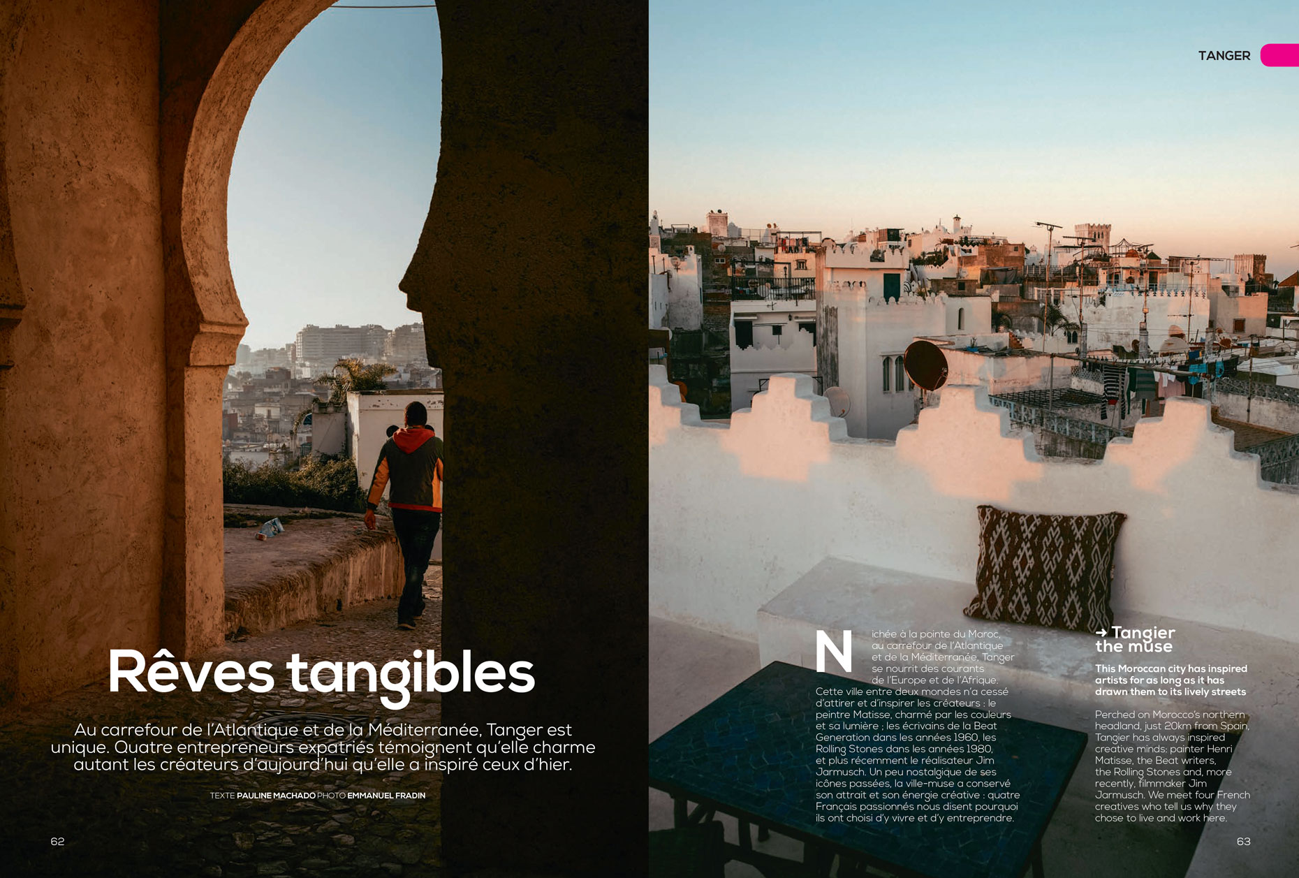 Tangier | Ink and Transavia France